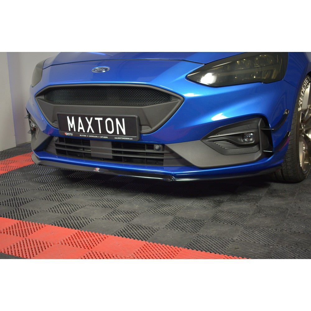 Maxton Design Ford Focus MK4 ST-Line (2018-UP) front splitter V.3