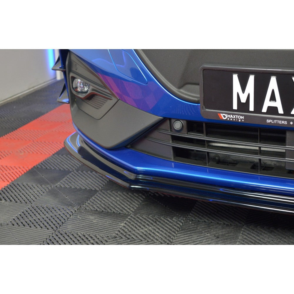 Maxton Design Ford Focus MK4 ST-Line Front splitter V.4 - Car Enhancements UK