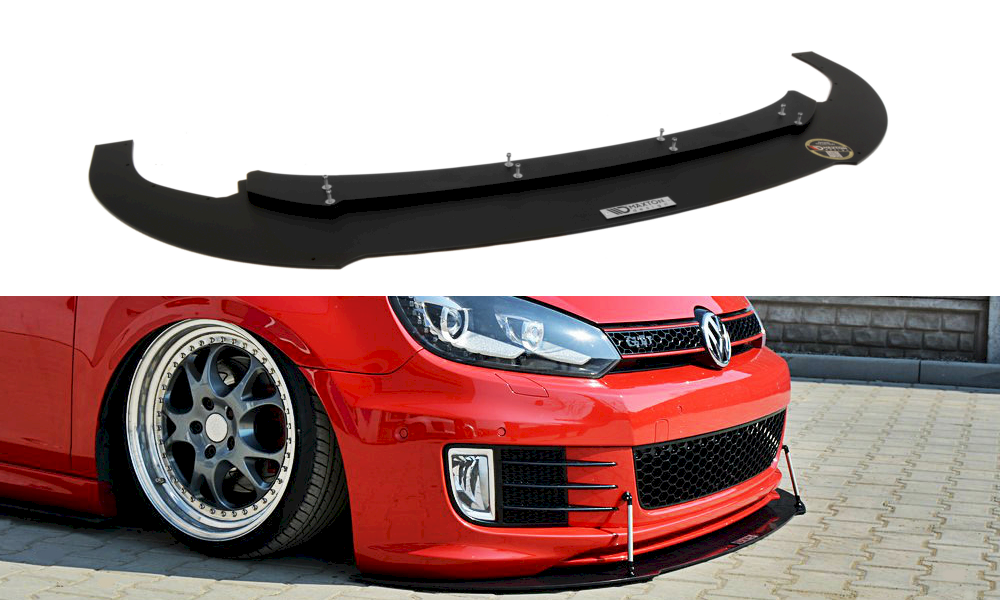 Front Racing Splitter VW GOLF MK6 GTI 35TH - Car Enhancements UK