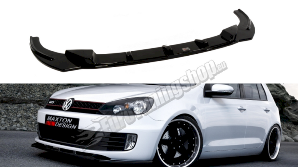 Front Splitter VW GOLF MK6 GTI - Car Enhancements UK