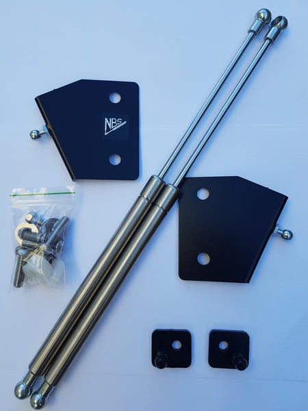 Fiesta MK6 Bonnet Strut Kit (NB Styling) - Car Enhancements UK