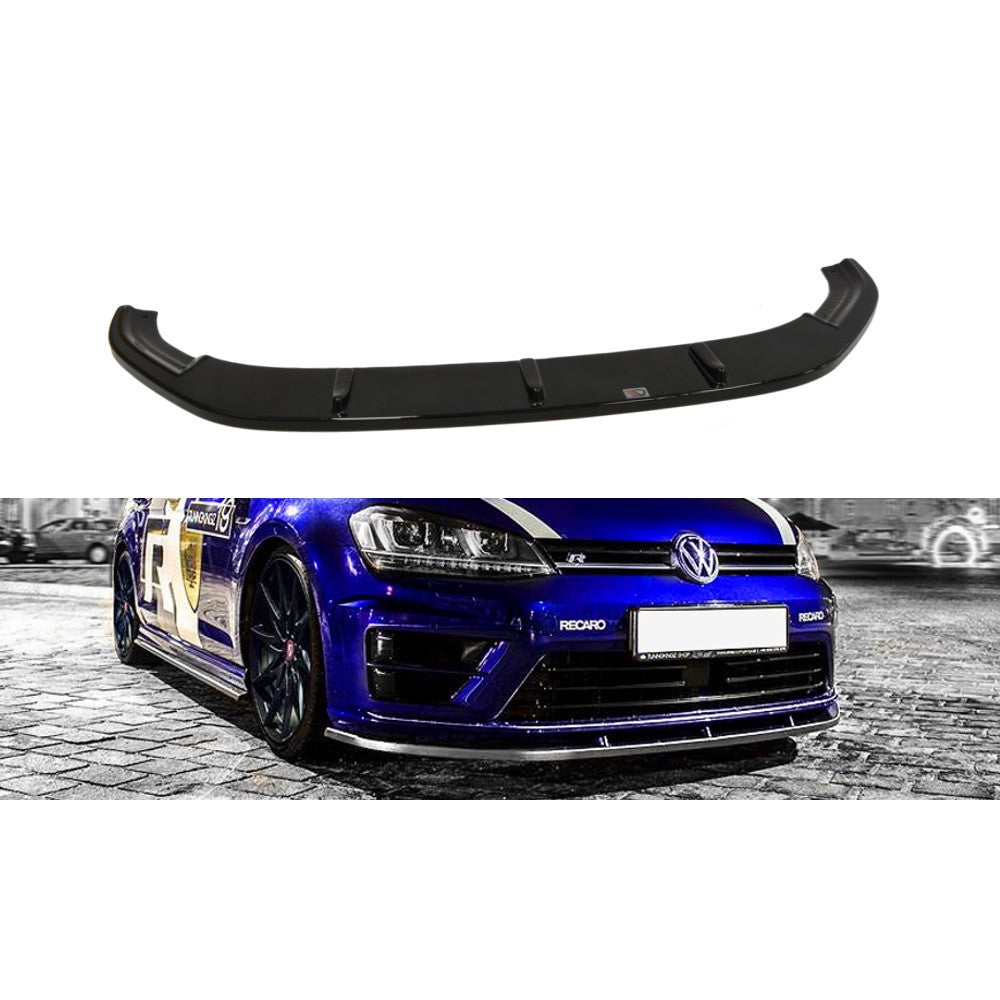 Maxton Design VW Golf R MK 7 (2013-2016) Front Splitter - Car Enhancements UK