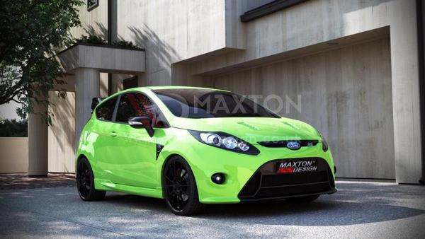 FRONT BUMPER FORD FIESTA MK7 (FOCUS RS LOOK)