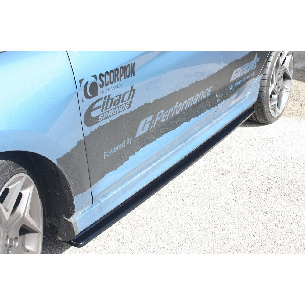 Maxton Design MK8 Fiesta Side Skirt Splitters ST & ST-Line