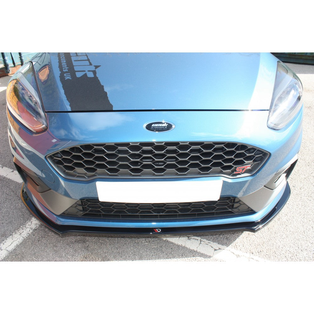 Maxton Design Front Splitter MK8 Fiesta ST & ST-Line V2 - Car Enhancements UK