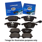 Pagid Rear Brake Pads - MK8 Fiesta 1.0 EcoBoost - Car Enhancements UK