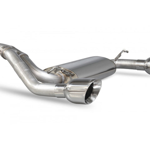 Scorpion Exhausts - MK3 Focus RS Cat-back system WITHOUT electronic valve - Car Enhancements UK