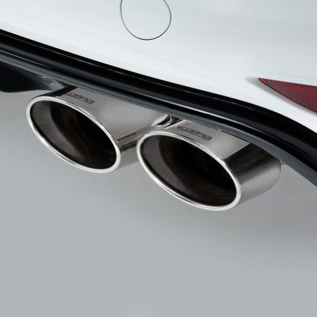 Cobra Sport MK7 Golf R Cat Back Exhaust - Non Valved / Non Resonated (Pre Facelift) - Car Enhancements UK