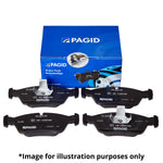 Pagid Front Brake Pads - MK8 Fiesta 1.0 EcoBoost - Car Enhancements UK