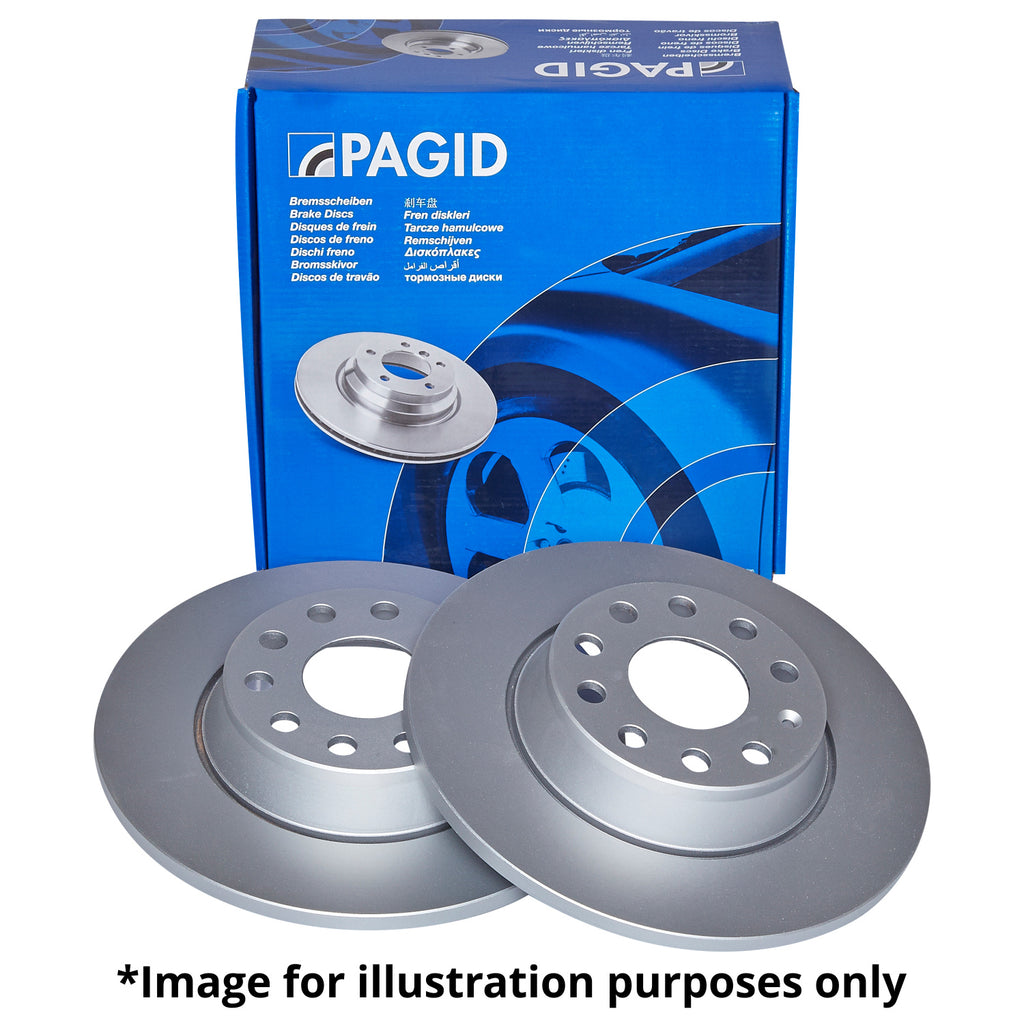 Pagid Brake Discs - MK7 Golf R