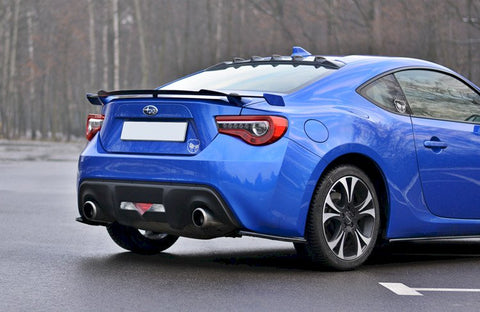 SPOILER CAP V2 SUBARU BRZ FACELIFT 2017-UP/ TOYOTA GT86 FACELIFT 2017-UP - Car Enhancements UK