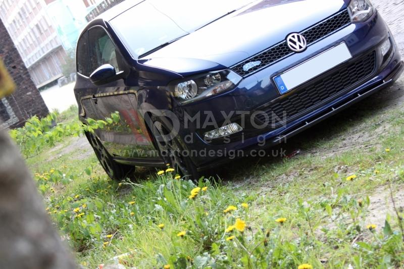 FRONT SPLITTER VW POLO MKV - Car Enhancements UK
