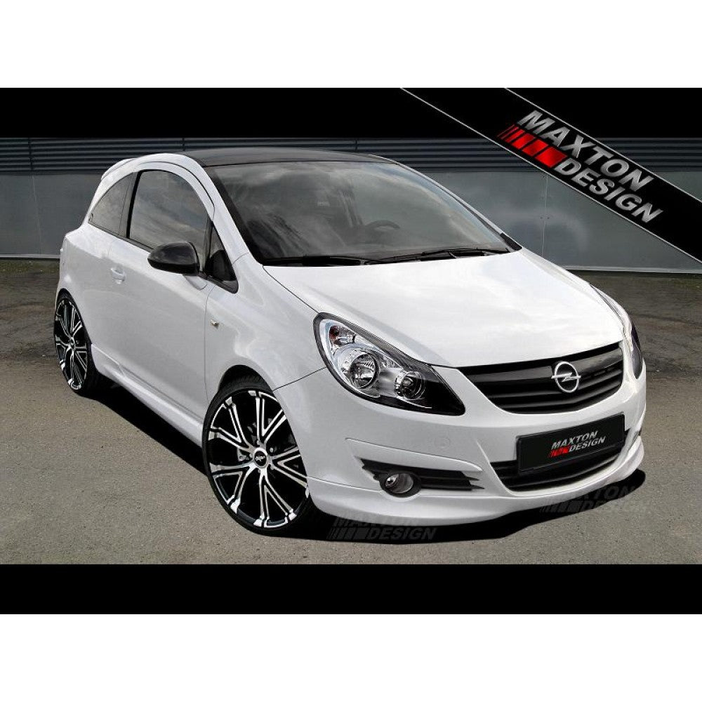 Maxton Design- Corsa D PREFACE Front Bumper Spoiler - Car Enhancements UK