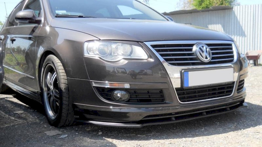 FRONT SPLITTER VW PASSAT B6 VOTEX