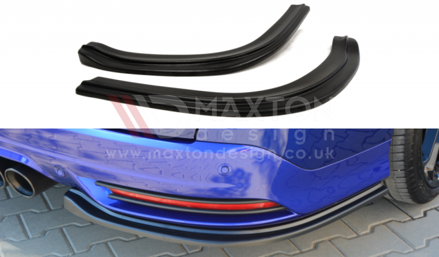 REAR SIDE SPLITTERS FORD FOCUS MK3 ST ESTATE