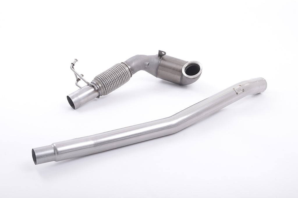 Audi S3 8V (All Models None GPF) - Milltek Sport - Downpipe with RACE CAT