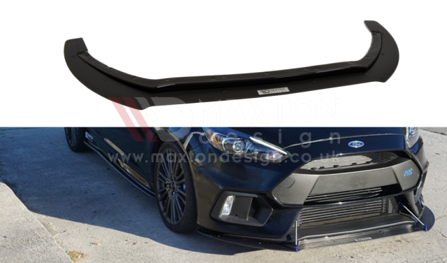 FRONT RACING SPLITTER FORD FOCUS MK3 RS