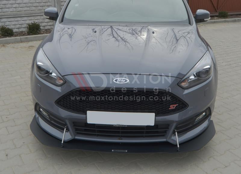 FRONT RACING SPLITTER FOCUS ST MK3 FACELIFT