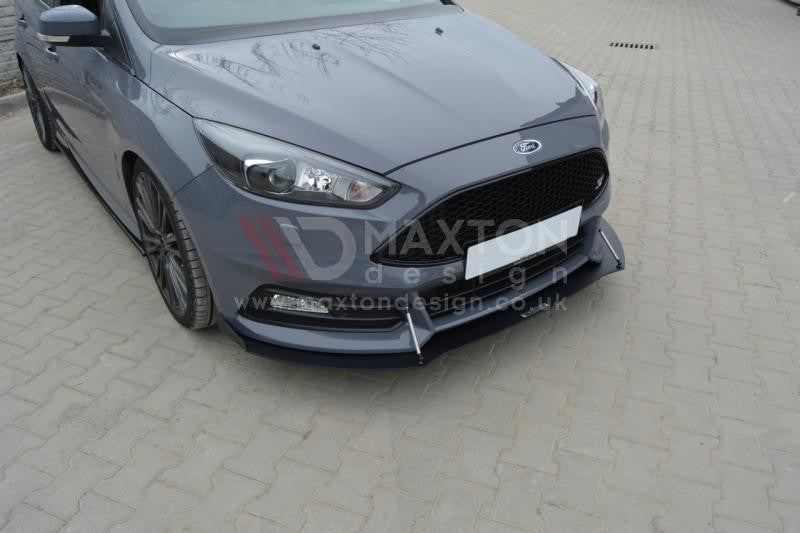 FRONT RACING SPLITTER V.2 FORD FOCUS 3 ST (FACELIFT) - Car Enhancements UK
