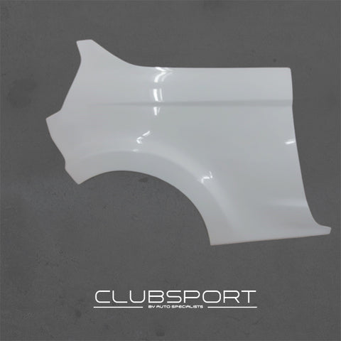 Clubsport by AutoSpecialists Lightweight Composite Rear Quarter Panels (PAIR) for Fiesta Mk7 incl. ST180 - Car Enhancements UK