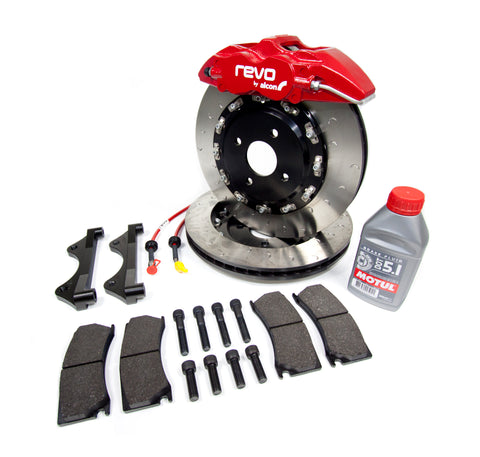 REVO brake kit for Fiesta MK7 - ST180 & Zetec S
