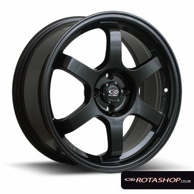 "Rota Grid 17"" 7.5"" 4x108mm ET45 - Car Enhancements UK"
