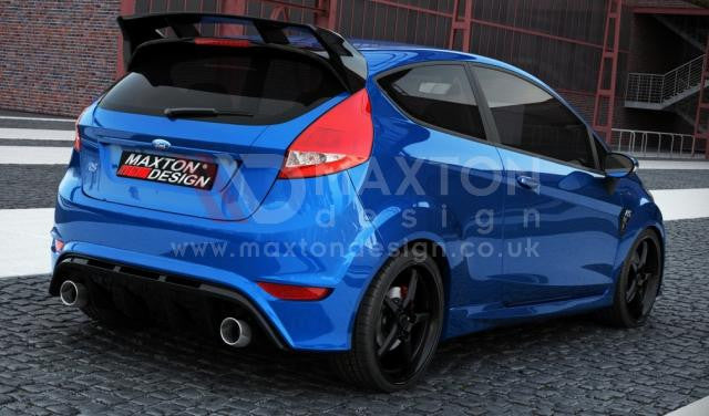 REAR BUMPER FORD FIESTA MK 7 FACELIFT (FOCUS RS LOOK)