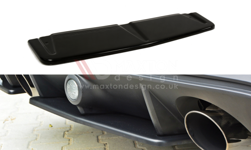 CENTRAL REAR SPLITTER FORD FOCUS MK3 RS - Car Enhancements UK