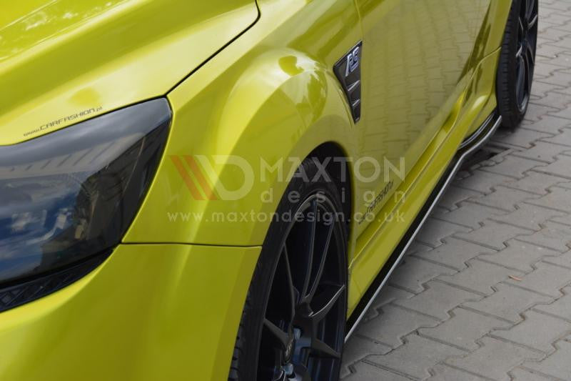 SIDE SKIRTS DIFFUSERS FORD FOCUS MK2 RS