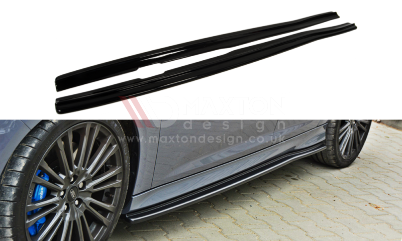 SIDE SKIRTS DIFFUSERS FORD FOCUS MK3 RS - Car Enhancements UK