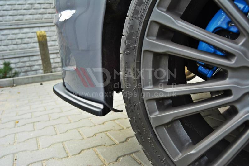 REAR SIDE SPLITTERS FORD FOCUS MK3 RS