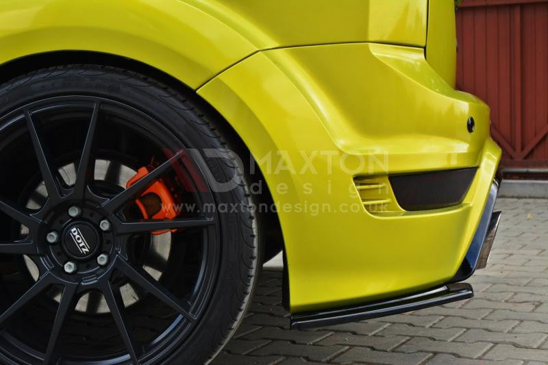 REAR SIDE SPLITTERS FORD FOCUS MK2 RS