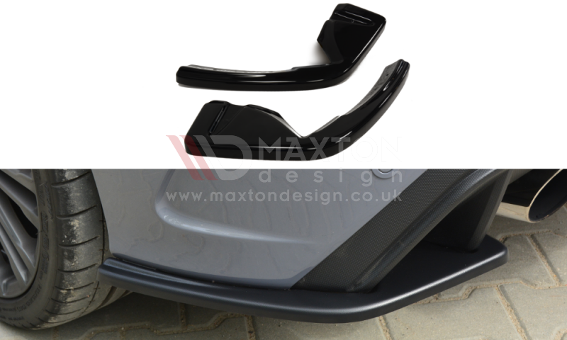 REAR SIDE SPLITTERS FORD FOCUS MK3 RS - Car Enhancements UK