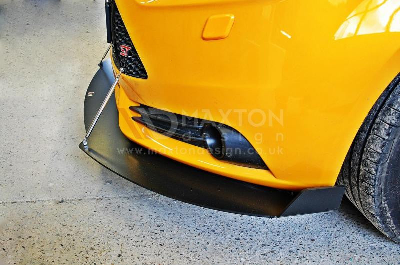 FRONT RACING SPLITTER FOCUS ST MK3 PREFACE MODEL VERSION 2