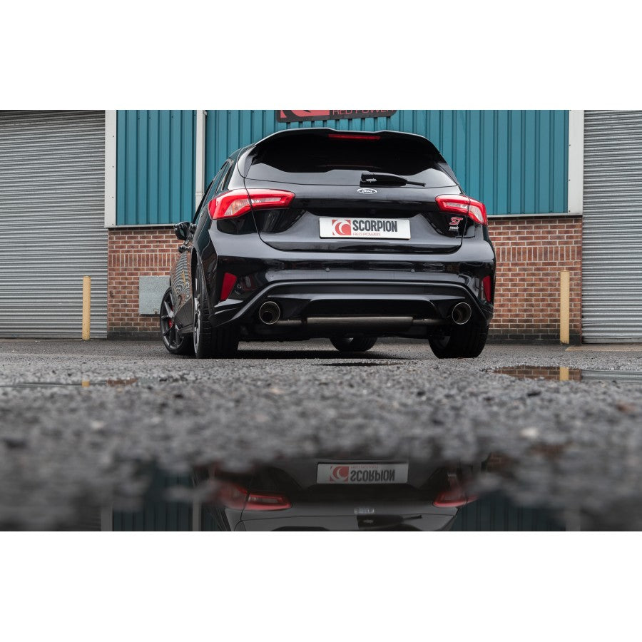 Scorpion Exhausts - MK4 Focus ST 2.3 - GPF Back Exhaust - Car Enhancements UK