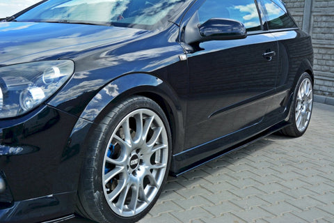 SIDE SKIRTS DIFFUSERS OPEL ASTRA H (FOR OPC / VXR) - Car Enhancements UK
