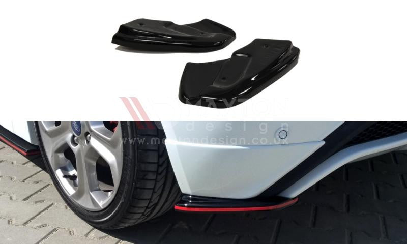 REAR SIDE SPLITTERS FORD FIESTA MK7 ST