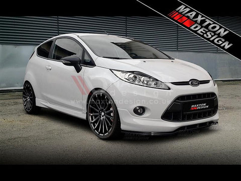 SIDE SKIRTS (ST / ZETEC S LOOK) FORD FIESTA MK7 PREFACE - 3 DOOR - Car Enhancements UK