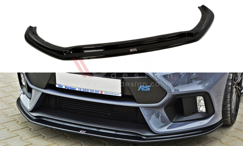 FRONT SPLITTER FORD FOCUS MK3 RS V.3