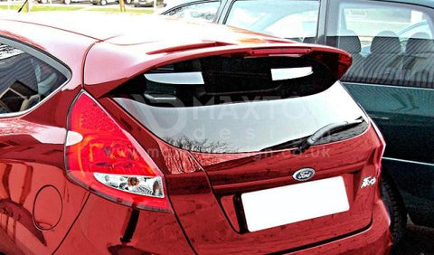 Roof Spoiler Ford Fiesta MK7 (ST/Zetec S Look) Primer Painted - Car Enhancements UK
