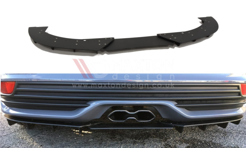 REAR DIFFUSER FORD FOCUS 3 ST (FACELIFT)