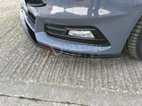 FRONT SPLITTER V.2 FOCUS ST MK3 FACELIFT MODEL - Car Enhancements UK