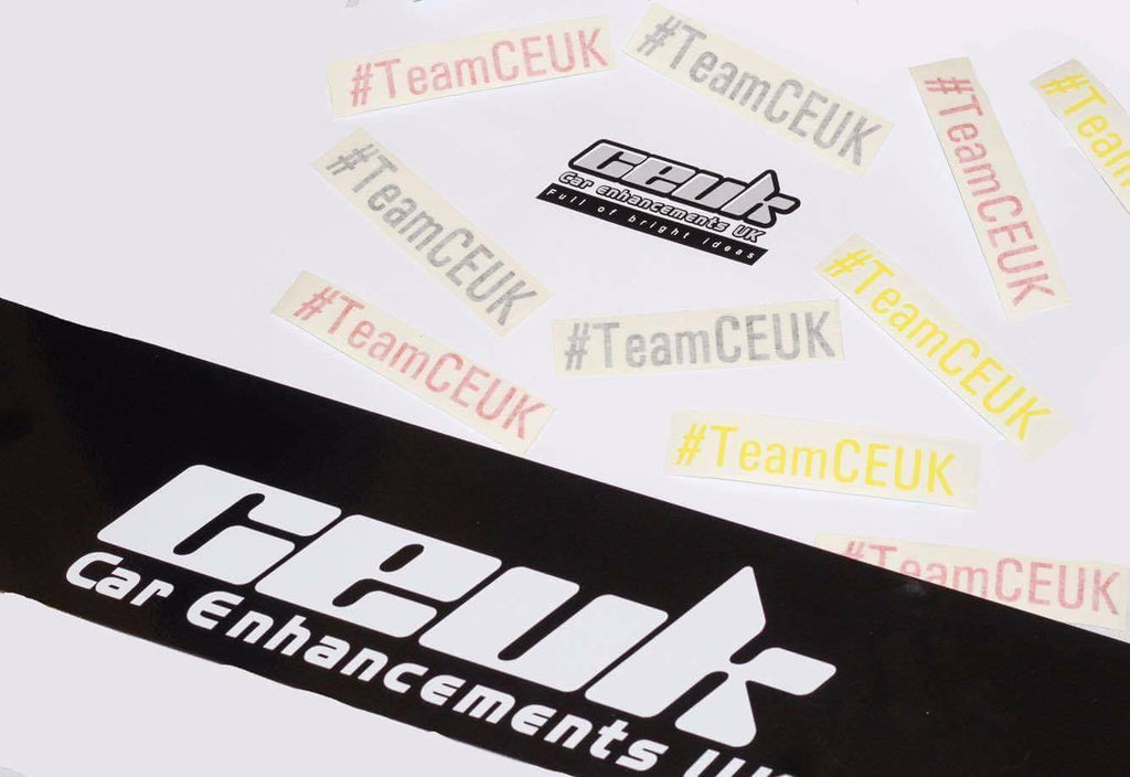 #TeamCEUK Sticker - Car Enhancements UK
