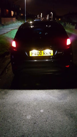 BriteVue Led Number Plate Units 501 - Car Enhancements UK