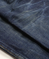 Blue Krait - Classic Vintage Distressed Denim Jeans