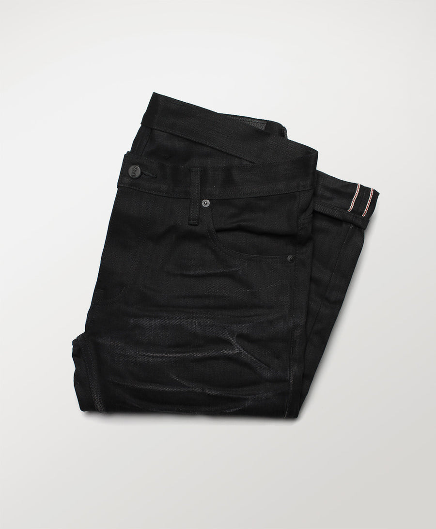 Five Pacer - 12 Month Black Denim Jeans