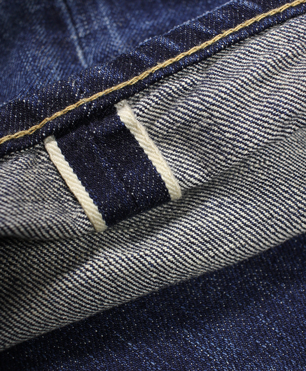 Blue Krait - Classic Vintage Clean Denim Jeans