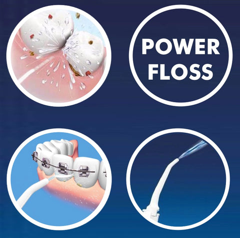 Power Floss™ - Hydro Powered Teeth Cleaner