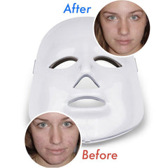 Light Therapy Face Mask - Pain-Free Face Rejuvination