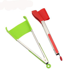 2 in 1 Spatula Tongs - Kitchen Gadget Essentials